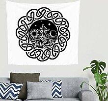 Böhmisch Keltisch Kreuz Mond Sonne Knoten Tattoo
