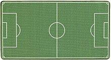 Böing Carpet FU-3603 Fußball Teppich, 100 x 160