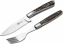 Böker Arbolito 03BA5718H Hirschhorn Steakbesteck
