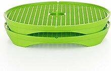 Börner Crispymaker 2er Set grün, Chipsmaker,
