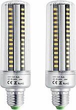 Bogao E26 / E27 156 LED 5736 SMD 25W LED Corn