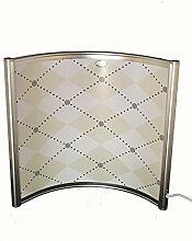 Bogen Infrarotheizung weiss 300 Watt Stand Paneele 55 x 52,5 x 2 cm 98%Hitzeeffizienz auf Crystal Carbon Basis