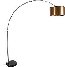 Bogenlampe Lampenschirm Kupfer 50 cm - XXL