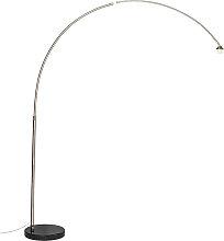 Bogenlampe Stahl ohne Schirm - XXL
