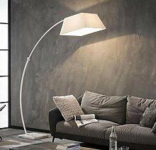 Bogenlampe Stehleuchte Peters-Living 3515796 Weiß