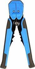 Boger Automatische Kabel Abisolierzange Selbstjustierende Multifunktions-Crimp-Abisolierzange Werkzeuge (blau)