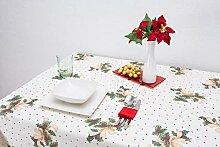 Boheme FIOCCO Tischdecke Weihnachten 140 X 200