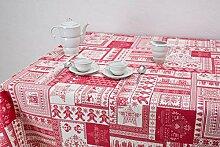 Boheme ORNAMAYO Tischdecke Weihnachten 140 X 300 ro