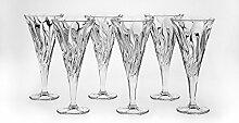 Bohemia Jihlava 93/19C23/0/77K57/250/6919001J Kelb Wein Glas, Klar/Transparen