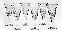 Bohemia Jihlava 93/19C23/0/77K67/250/6919001I Kelch Wein Glas, Klar/Transparen