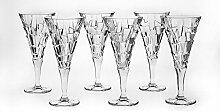 Bohemia Jihlava 93/19J16/0/93K79/230/6919001I Kelch Wein Glas, Klar/Transparen