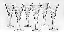 Bohemia Jihlava 93/19J17/0/93K74/230/6919001I Kelch Wein Glas, Klar/Transparen