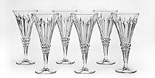 Bohemia Jihlava 93/19J18/0/77K27/240/6919001I Kelch Wein Glas, Klar/Transparen