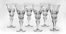Bohemia Jihlava 93/19J19/0/77K37/240/6919001I Kelch Wein Glas, Klar/Transparen
