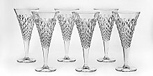 Bohemia Jihlava 93/19J20/0/93K87/250/6919001I Kelch Wein Glas, Klar/Transparen