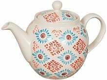 Bohemian Keramik-Teekanne
