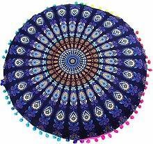 Bohemian Kissen – 80 80 cm indisches Mandala