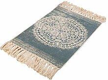 Bohemianischer Teppich, dekorativer