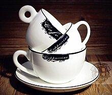 BOHNR-Cappuccino Tasse Kaffee Tasse Kaffee Tasse