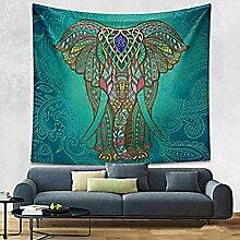 Boho Mandala Tapisserie Wandteppiche Hippie-Tapisserie Indian Wandbehang Decke Picknickdecke Tagesdecke Vorhang Decor, 210x150cm, #3