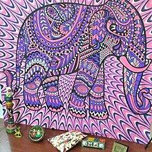 Boho Mandala Tapisserie Wandteppiche Hippie-Tapisserie Indian Wandbehang Decke Picknickdecke Tagesdecke Vorhang Decor, 210x150cm, #6