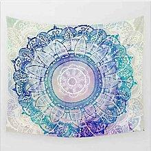 Boho Mandala Tapisserie Wandteppiche Hippie-Tapisserie Indian Wandbehang Decke Picknickdecke Tagesdecke Vorhang Decor, 150x130cm, #10