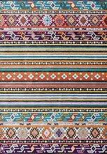 Boho-Teppich, rutschfest, leicht zu reinigen, für