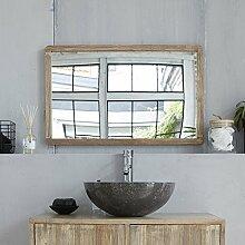 Bois Dessus Bois Dessous Spiegel aus Kautschukholz 80