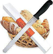 BOLEX Wellenschliff-Brotmesser, 25,4 cm breit,