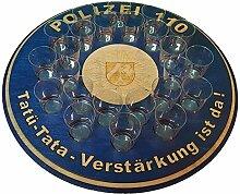 Bollicar Polizei NRW Tamilo - Tablett für Kurze