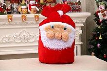 BollKing Weihnachtsmannsack Nikolaussack 50x37cm