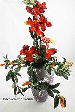 Bollweg Formano Glas-Vase Retro Silber mit