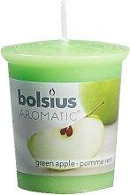 Bolsius Duftkerze Grüner Apfel 53/45 mm