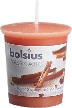 Bolsius Duftkerze Zucker & Zimt 53/45 mm