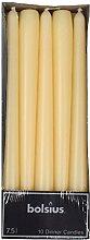 Bolsius Kerze Papier 0 W, elfenbeinfarben