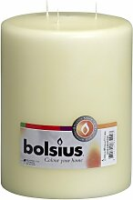 bolsius Multi-Wick Kerze, Paraffin Wachs,