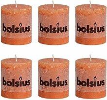 Bolsius Rustic Stumpenkerze Stumpen Kerzen Kerze