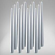 Bolsius Spitzenkerzen 245/24 mm 12er Pack
