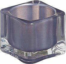 bolsius Teelichthalter eckig 40/55 mm (6 Stück) -