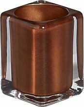 bolsius Teelichthalter eckig 76/55 mm (1 Stück) -
