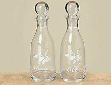 Boltze Flaschen Essig und Öl STANA 2-tlg. Set