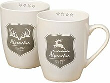 Boltze Home Collections Becher 2er Set Alpine mit