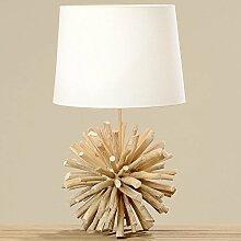 Boltze Lampe Tischlampe Treibholz 60cm