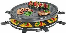 Bomann RG 2247 CB Raclette-Grill zum Grillen und