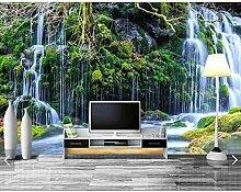Bomdow Ursprung Wald Wasserfall Tapete Wandbild