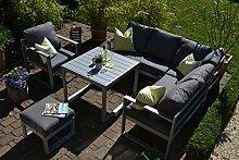 bomey Aluminium Eck-Lounge Set I Gartenmöbel Set