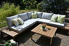 bomey Aluminium Lounge Set I Gartenmöbel Set