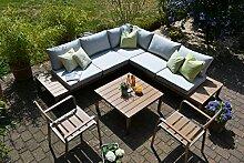 bomey Lounge Set I Gartenmöbel Orlando 4-Teilig I