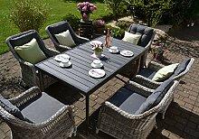 bomey Rattan Lounge Set I Gartenmöbel Set Como