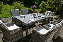Bomey Rattan Lounge Set I Gartenmöbel Set Como-XL